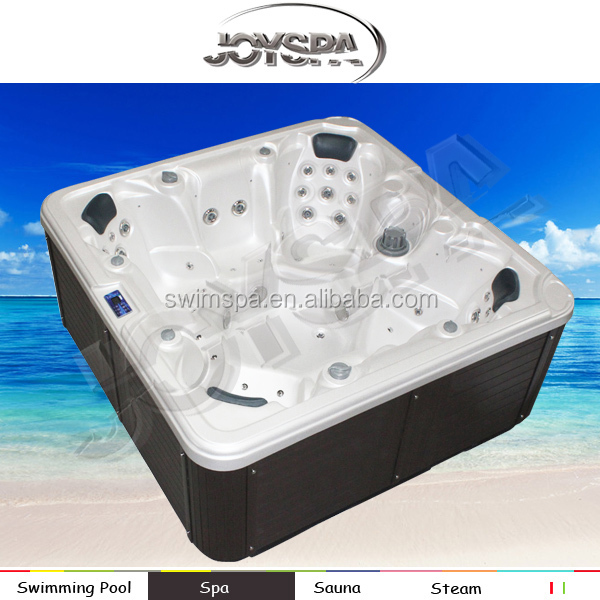 2014 new design European style outdoor bathtub with 7 presons