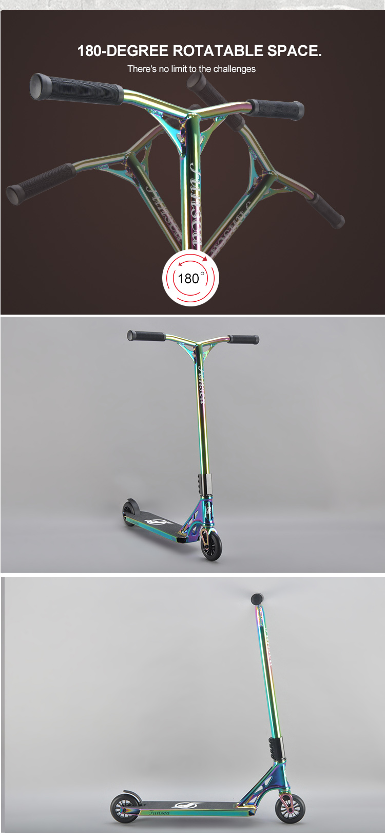 Fashion new model OEM ODM price wholesale kick foot scooters freestyle street scooters for kid child adult teenager man woman