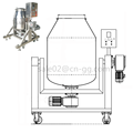 L&B Factory Price Food Grade Stainless Steel 300L Powder Rotary Food Drum Mixer Machine