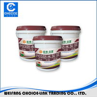 Single component 5kg/barrel polyurethane waterproof coating/paint