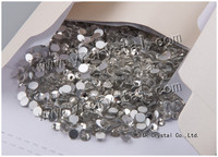 Clear Crystal 1440 pcs SS16 high quality non hot fix crystal rhinestone,crystal rhinestone non hot fix for shoes dresses