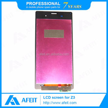 Cheapest price Lcd with digitizer For Sony Z3 L55T Front lcd+ touch for Sony Xperia Best