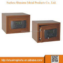 2016 Newest Cheap Hotel Portable Metal Two Key Safe Cabinet Box
