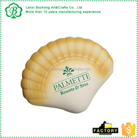 PU Foam Seashell Stress Toy for promotion