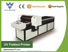 A1 uv printer for ceramic tile/wood/ PVC / metal/ leather / other hard materials with 3D texture and white printing