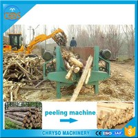 wood peeling machine/wood peeler/ log barker