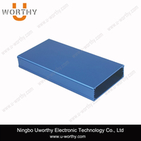 W 74.3 * H 22 mm / Panel Mounted Insulated Aluminum Extrusion Enclosure