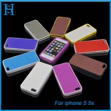 Colorful new style silicon phone case for iphone 4 4s 5 5s