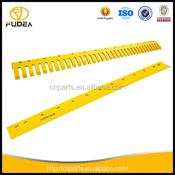 Abrasion resistant grader blade cutting edge snow blades for tractors 5D9553
