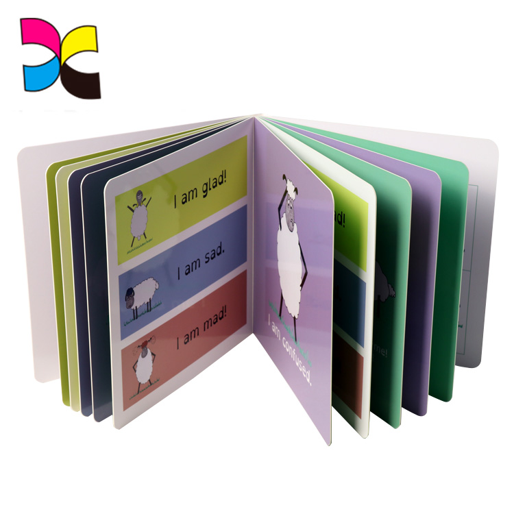 Paper board printing colorful import export books cardboard children book