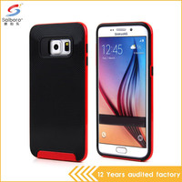 Phone case factory new arrival tpu pc for samsung galaxy s6 cover, hot design cover case for samsung galaxy s6 edge