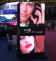 P2.5 Indoor Advertising Display Sliding LED screen