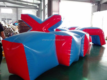 used inflatable air paintball bunkers equipment for sale