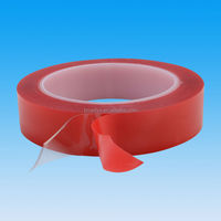Super tack adhesive tape for automotive glass metal plastic