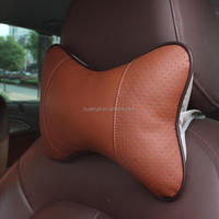 Bone neck pillow cheap travel car seat pu cushion china promotional gift wholesale