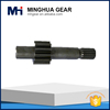 high procison motorcycle gear machining part spur gear shaft