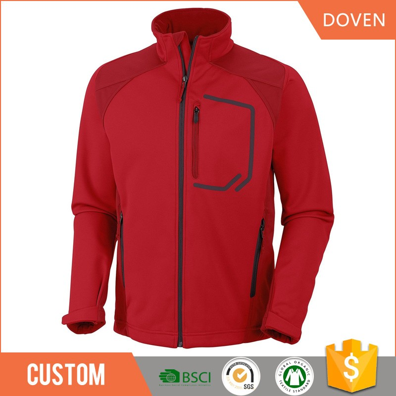 wholesale custom blank waterproof softshell jacket