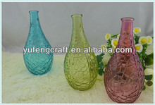 ikebana vases,clear glass ball vase