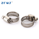10-16mm stainless steel screw hydraulic tube american type hose clamp