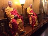 religious wax figure Buddha statues