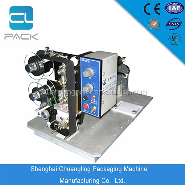 Electric Rotation Type Ribbon Continuous Coding Sealing Machine