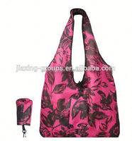 Popular wholesale foldable eco non-woven bag shopping bag with handle,easy carry and use
