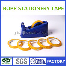 High quality BOPP water based crystal stationery tape