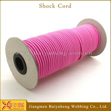 high quality polyester elastic rubber rope stretch cords