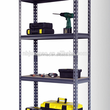 Factory Direct boltless slotted angle shelving for storage
