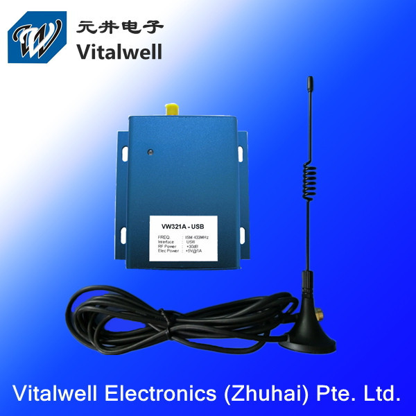 VW321A 1W 2km usb 433MHz Transceiver/receiver Wireless Module