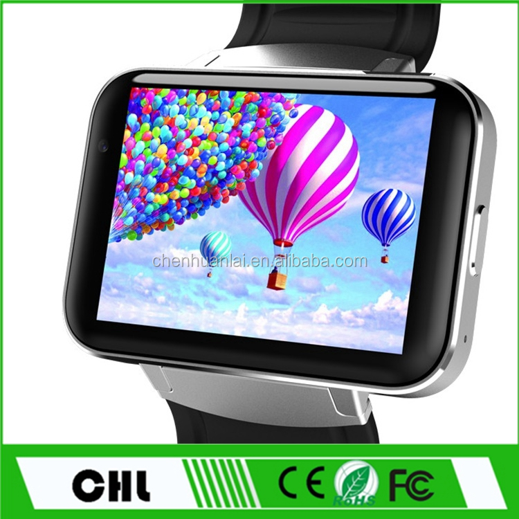 Ce Rohs 2017 Smart Watch Dm98 Android 4.4 Mtk 6572 Dual Core 3G Wifi Internet Watch Phone