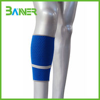 Sports support protection neoprene sleeve calf compression running custom