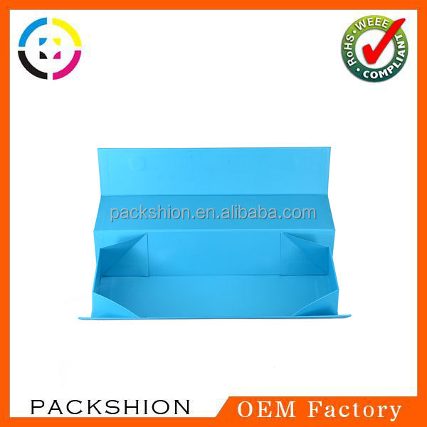 Auto Machine Made Rectangle Folding Paper Box for Hair Extension