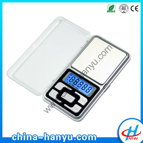 HY-MH 500g/0.01g mh series pocket scale/chinese electronic weighing scales