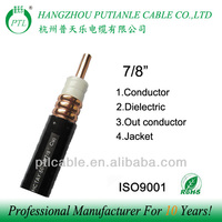 "7/8""rf coaxial feeder cable"