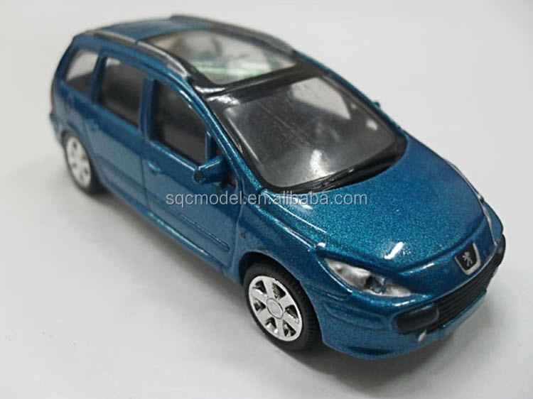 1 43 scale oem peugeot 307 sw die cast police car model