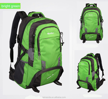 60L Hiking Packs for Outdoor Travel Climbing Camping crease resistant anti corrosion uneasy deformed against fading green
