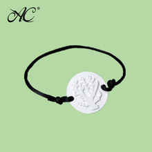 nice design aroma perfume ceramic bracelet stone for home decoration and fragrances