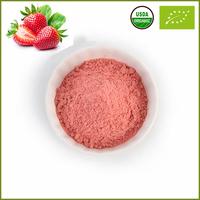 Natural Organic Strawberry Flavor Freeze Dried Fruit Juice Powder