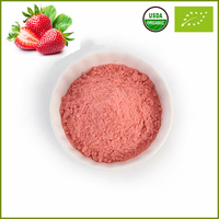 Natural Organic Strawberry Flavor Freeze Dried