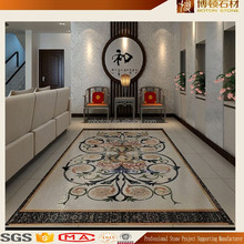 Alibaba Wholesale Floor tiles design marble waterjet medallion tile