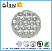High quality Multilayer copper Lead free High TG led lamp circuit