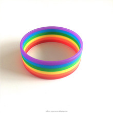 Adult love bracelet hot sale wide 1 inch silicone wristbands