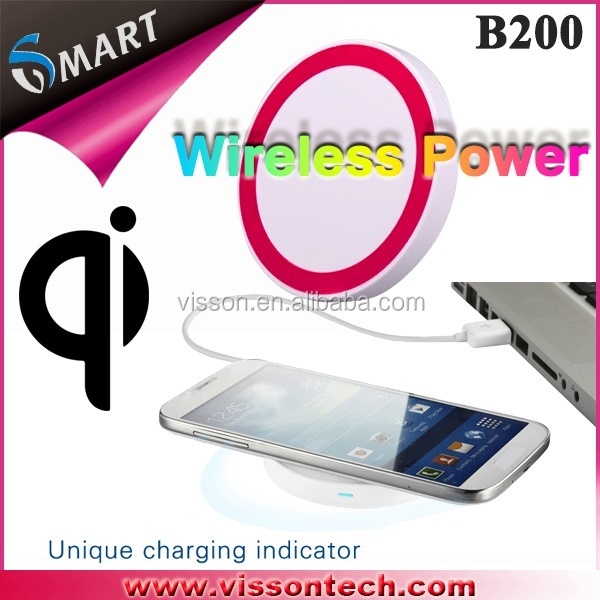 Universal Mini Portable QI Standard Wireless Charger For Mobile Phone