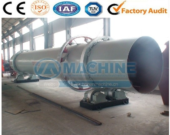 Factory direct sell cow dung dryer and chicken manure dryer