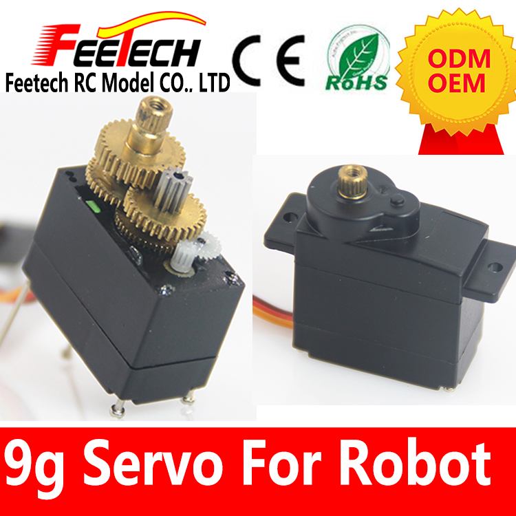 Metal Gear RC Speed torque Micro Servo 9g for Trex Align 450 RC helicopter