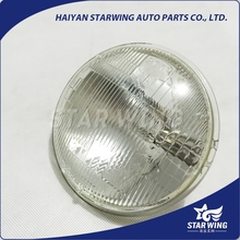 filament type 5 inch round tractor sealed beam headlights with all clear glass