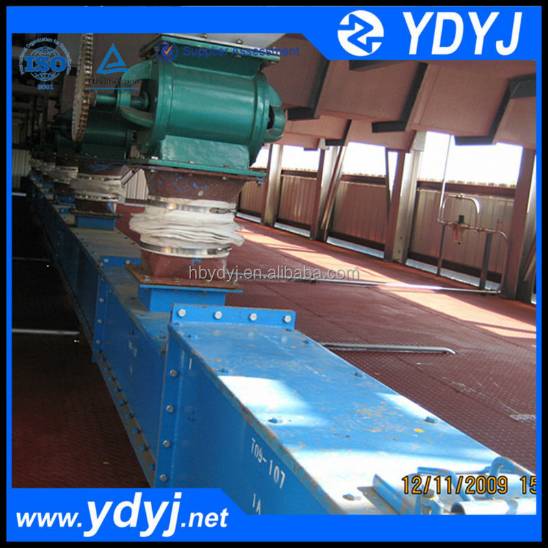 China Famous Mining Powder Scraper Conveyor Transporter Supplier