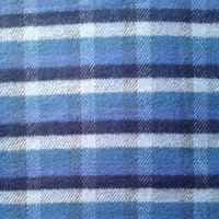 100 cotton yarn dyed flannel fabric