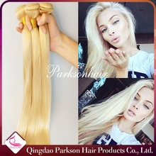 Can be colored natural blonde silky straight human hair extensions buy cheap brazilian hair online